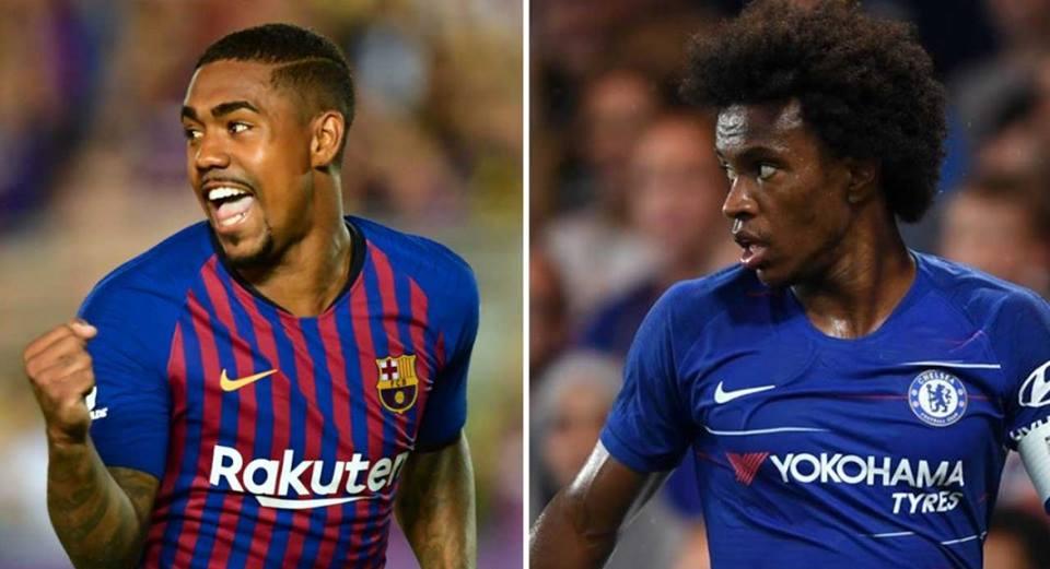 Chelsea refuzon shkëmbimin Willian-Dembele