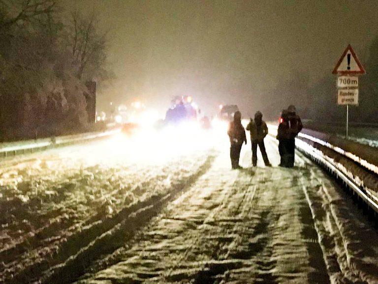 Nga bora e madhe në Gjermani, bllokohen rrugët