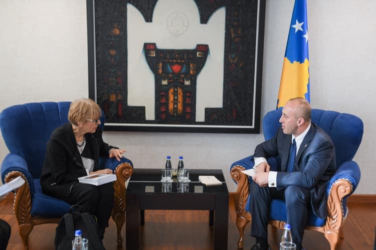 Haradinaj takon Biserkon, thotë se Kosova është model në mbrojtjen e të drejtave të njeriut