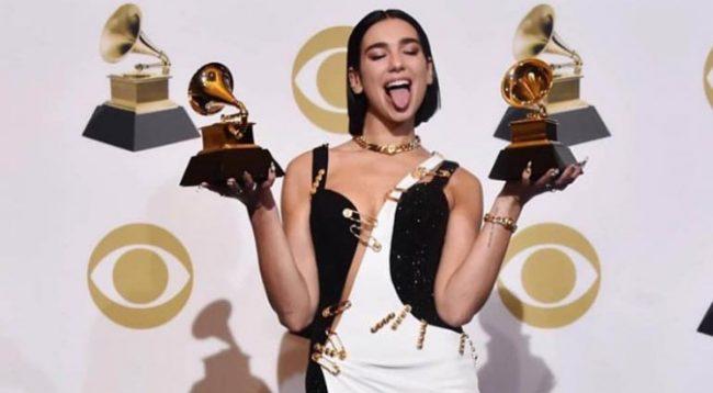 """Shqiptarja që po na bën krenar, Dua Lipa me dy çmime """"Grammy"""""""