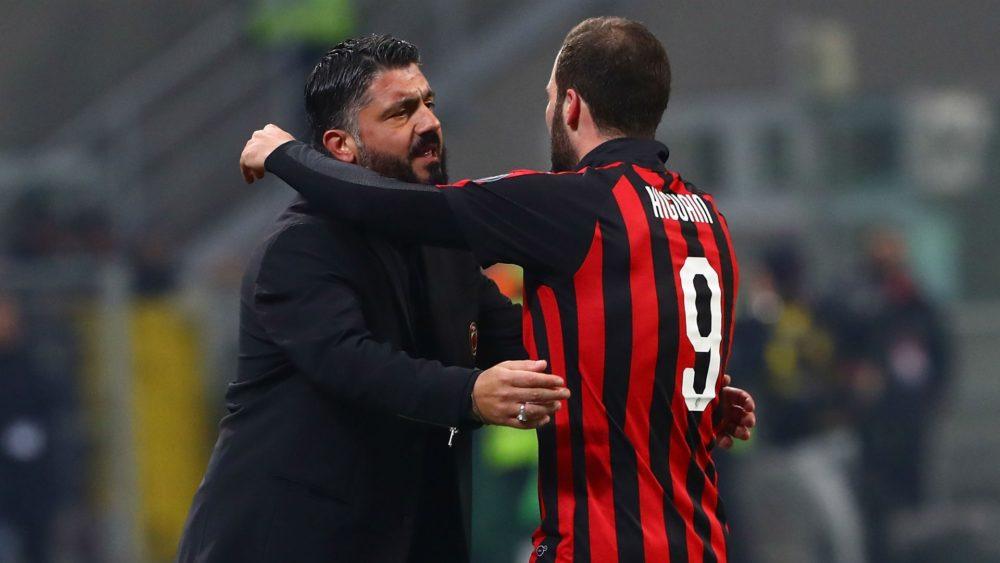 Gattuso flet për fitoren e Milanit dhe të ardhmen e Higuainit
