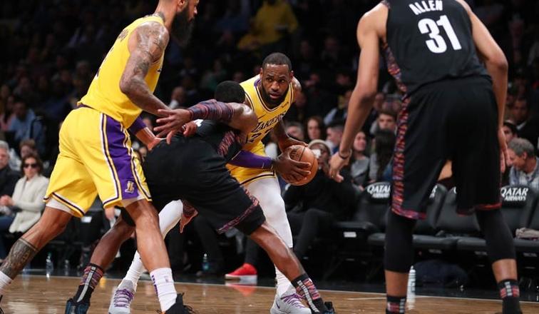 """Brooklyn """"leksion"""" Lakers , Cleveland fiton në sekondat e fundit"""