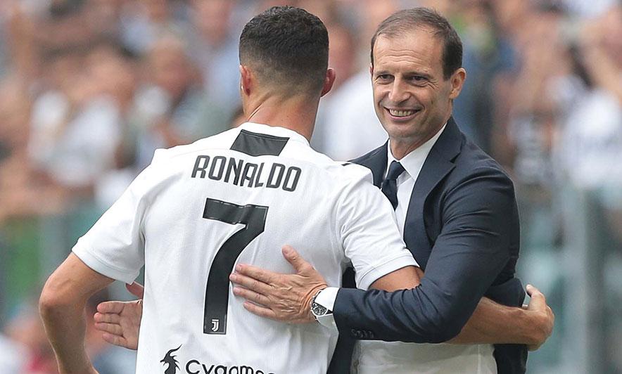Allegri tregon arsyen pse Ronaldo nuk do të luajë kundër Atalantës