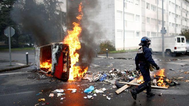 Qeveria franceze frikësohet për prani të dhunës ditëve në vijim