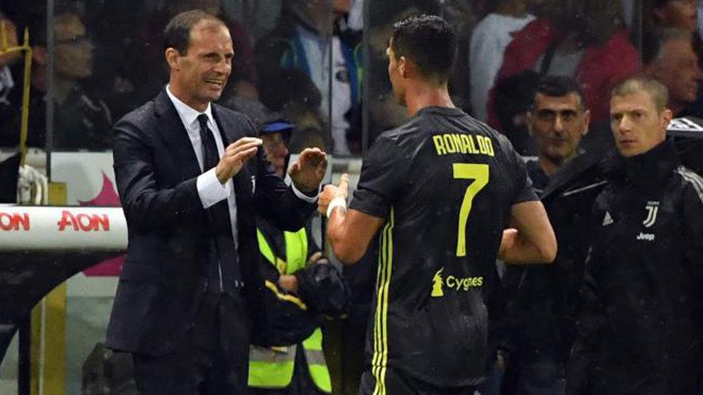 Allegri tregon nëse Ronaldo do të luajë kundër Romës