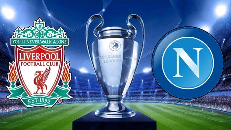 Formacionet zyrtare, Liverpool-Napoli, a është Shaqiri titullar?