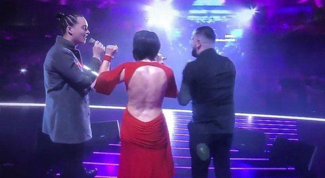 Aurela Gaçe del me fustanin e hapur gjithandej, masakrohet nga fansat