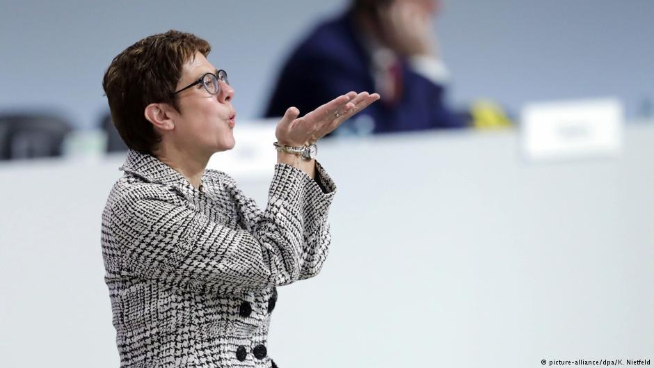 Liderja e re e CDU-së: Me mua, Merkel është esigurtë