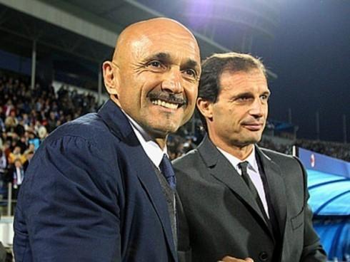Sonte Juve-Inter, ja bilanci mes Allegrit dhe Spallettit