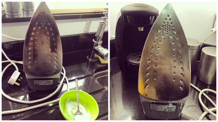 Metoda më e lehtë për të pastruar hekurin
