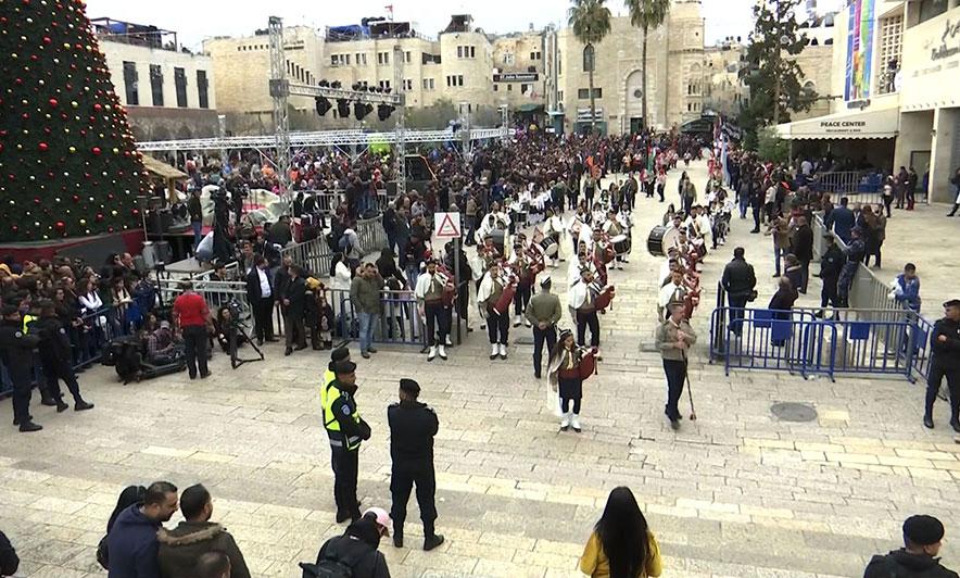 Betlehemi përgatitet të festojë Krishtlindjen, mijëra pelegrinë pjesëmarrës
