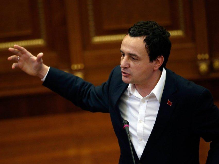 Albin Kurti me akuza të rënda ndaj Thaçit