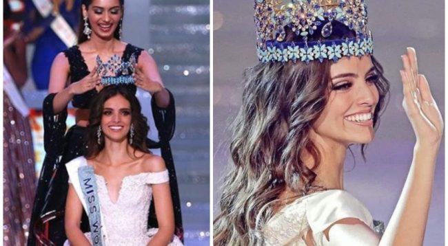 """Bukuroshja meksikane që u kurorëzua """"Miss Bota 2018"""""""