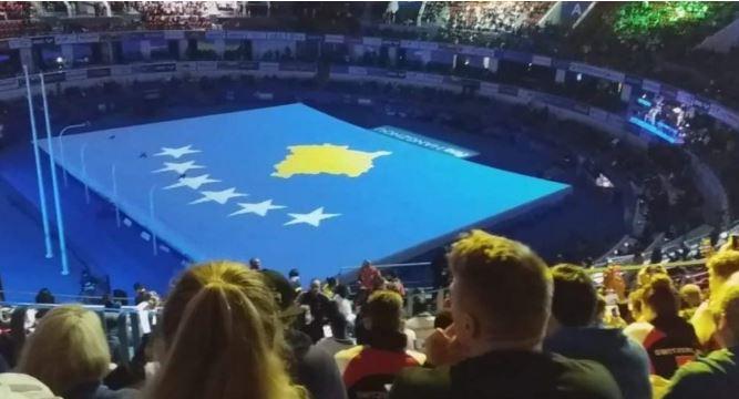 Flamuri i Kosovës shfaqet edhe në Kinë
