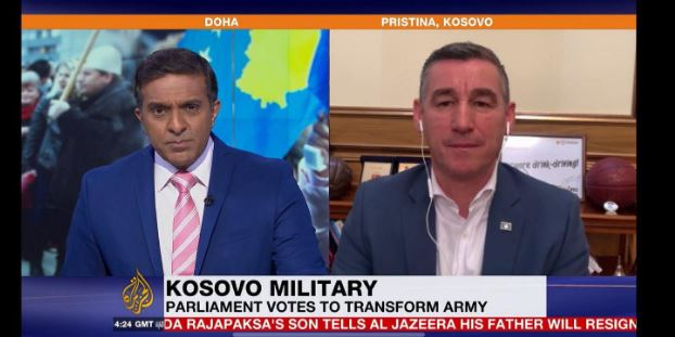 Veseli për Aljazeera Internacional: Ushtria e Kosovës do ta forcoj paqen në rajon