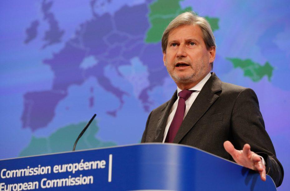 Hahn: Dialogu ndërmjet Kosovës dhe Serbisë, duhet të vazhdojë në mënyrë urgjente