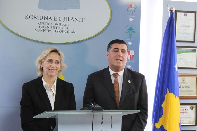Organizata e Brukselit (ALDA) konfirmon mbështetjen për Gjilanin dhe komunat tjera në zhvillim ekonomik