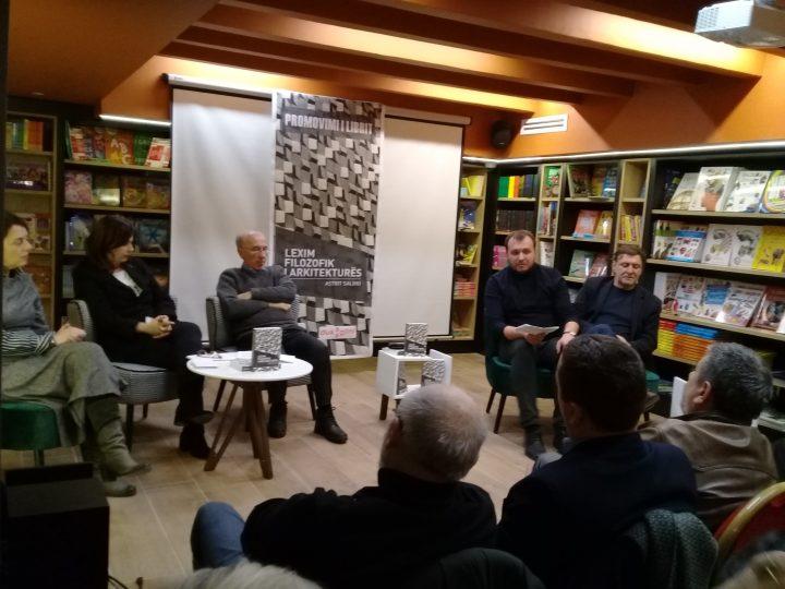 Promovohet libri 'Lexim Filozofik i Arkitekturës' i Astrit Salihut