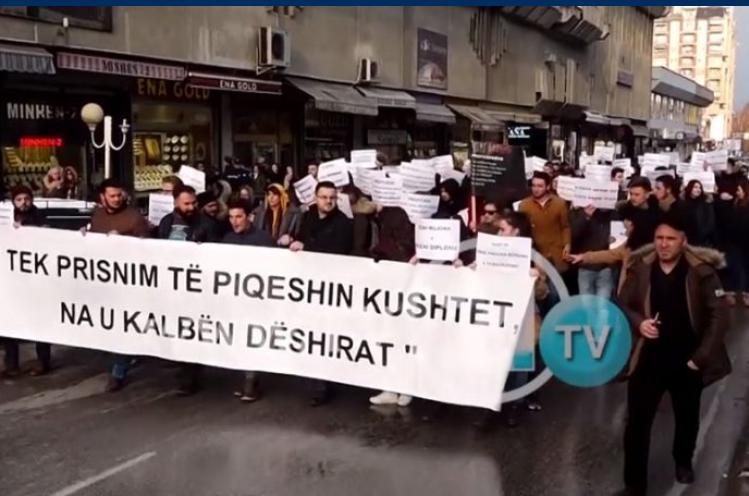 Ultimatumi i studentëve në Tetovë: Plotësoni kërkesat ose kthehemi në rrugë!