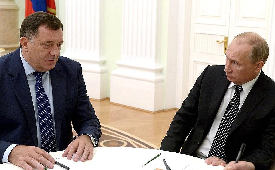Kështu deklarohet Dodik i Republika Serpska për vizitën e Putinit në Serbi