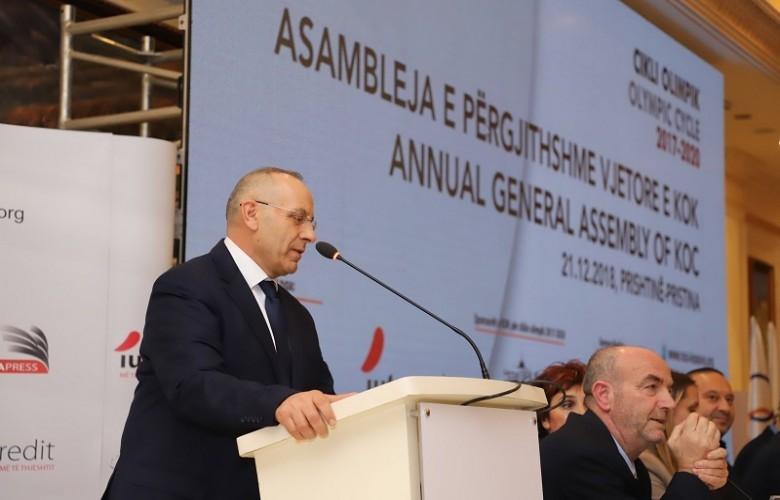Agim Ademi zgjedhet nënpresident i KOK-ut, ja çfarë deklaron