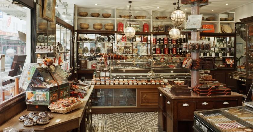 Brenda dyqanit më të vjetër të çokollatave në Paris