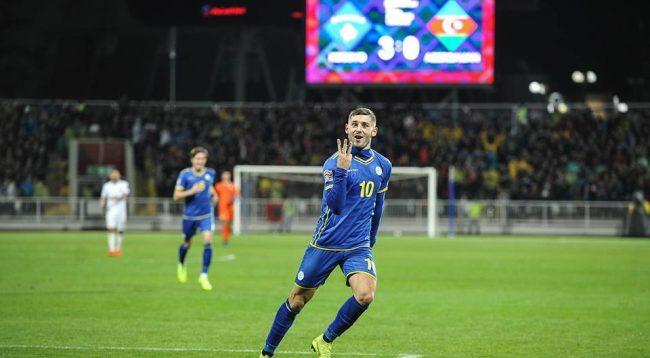 ZYRTARE: Arbër Zeneli, futbollisti i vitit 2018 në Kosovë