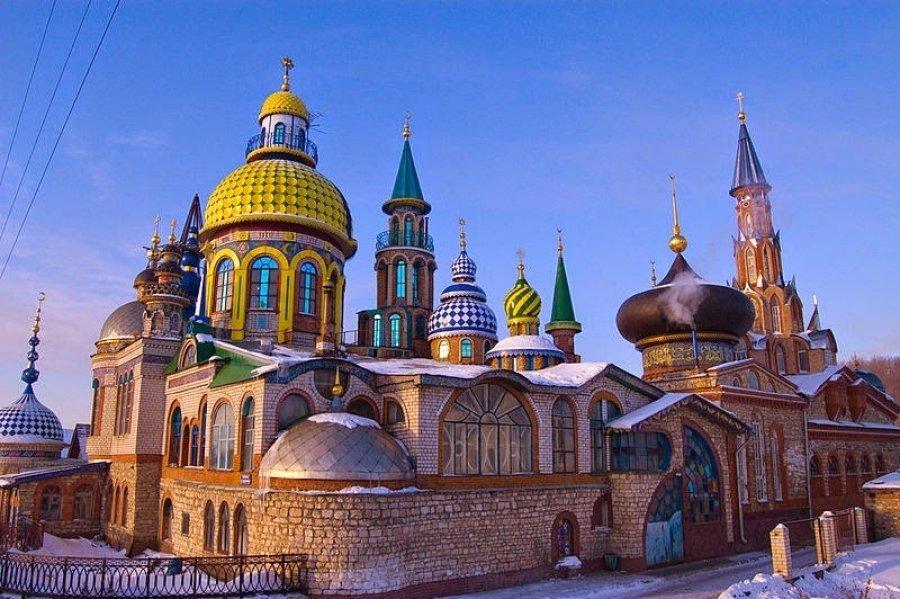 Një tempull për të gjitha fetë po ndërtohet në Rusi