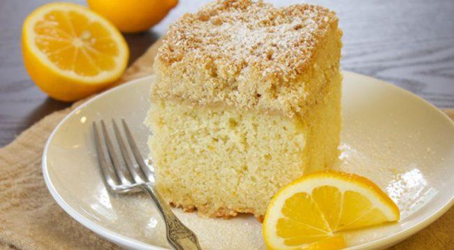 Torta me xhenxhefil dhe limon, një shije më ndryshe