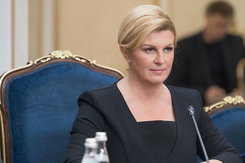 Presidentja kroate i kundërpërgjigjet Vuçiqit