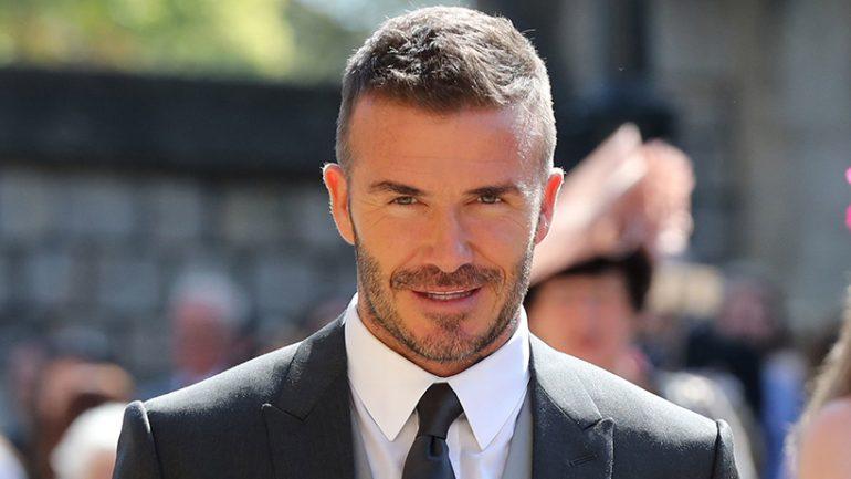 David Beckham, futbollisti i parë që do të shkojë në hapësirë