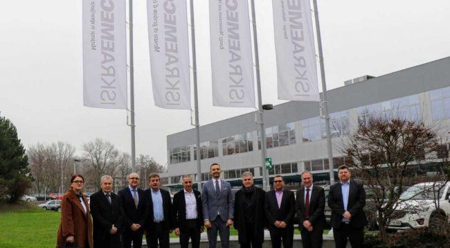 Ministri Lluka në Slloveni për të rritur bashkëpunimin ekonomik