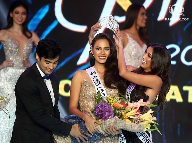 """Catriona Gray shpallet """"Miss Universe 2018"""""""