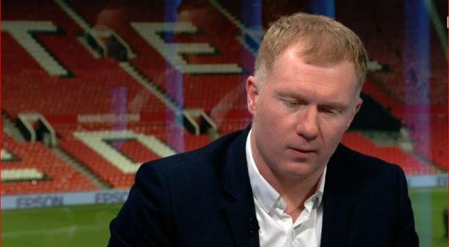 Scholes: Nëse ai lojtar nuk mund ta bëjë në pasim, ai nuk duhet të jetë pjesë e Man Utd