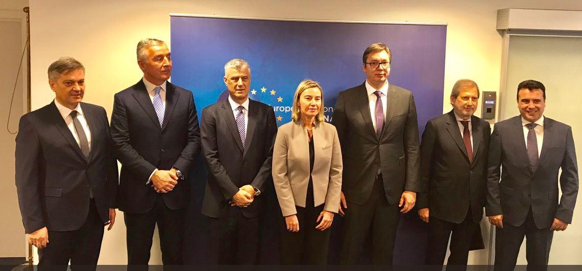 Deklarohet Hahn pas takimit me liderët e Ballkanit Perëndimor