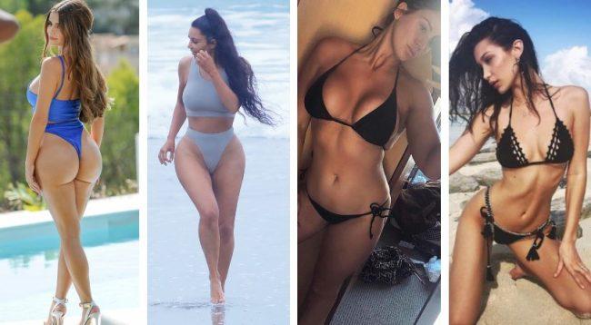 Nga Kim Kardashian tek Bella Hadid, këto ishin fotografitë më seksi të 2018-ës