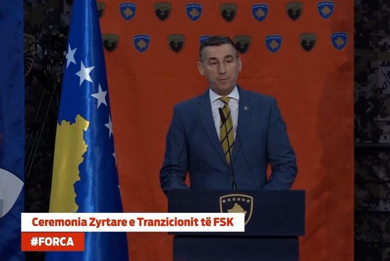 Veseli: Ushtria e Kosovës në shërbim të demokracive