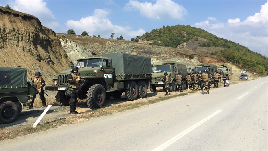KFOR deklarohet për praninë e shtuar në veri, një ditë para formimit të Ushtrisë së Kosovës