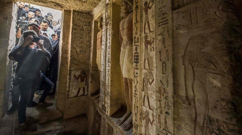 Egjipt, zbulohet varri 4400 vjeçar në gjendje fantastike