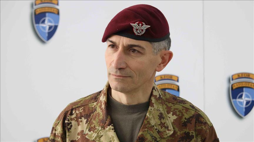 Komandanti i KFOR-it deklarohet për formimin e Ushtrisë se Kosovës