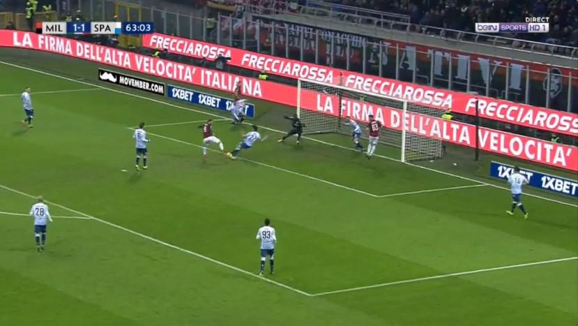 Kështu mbyllet ndeshja Milan-SPAL
