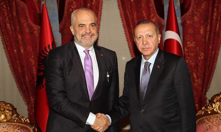 Rama në Stamboll takohet me presidentin Erdogan