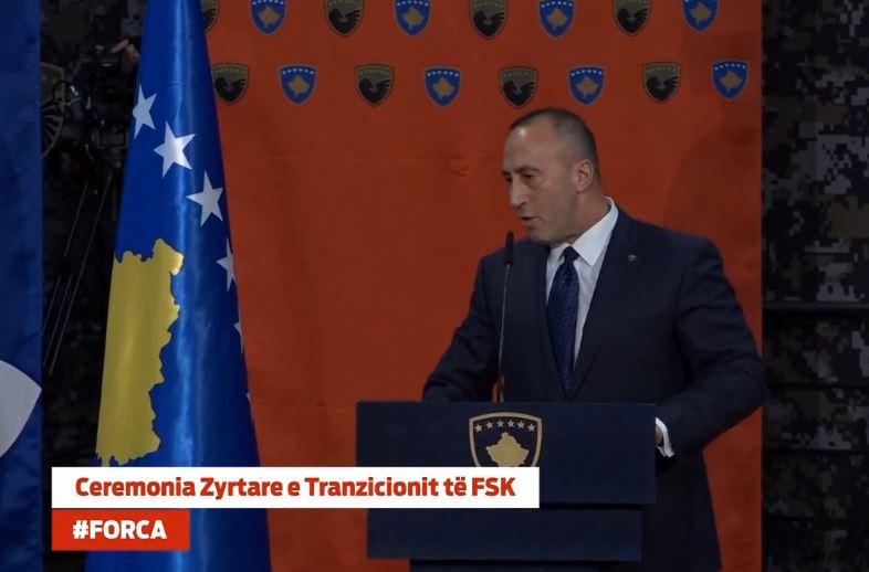 Haradinaj thotë se ne jemi në rreshtin e Amerikës