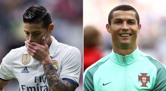 Ronaldo me deklaratë shokuese për James Rodriguez