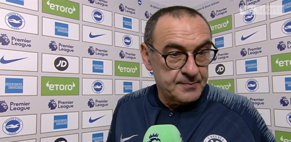 Chelsea fiton, por Sarri vjen me deklarate interesante
