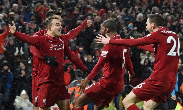Shaqiri hero i fitores së madhe te Liverpoolit