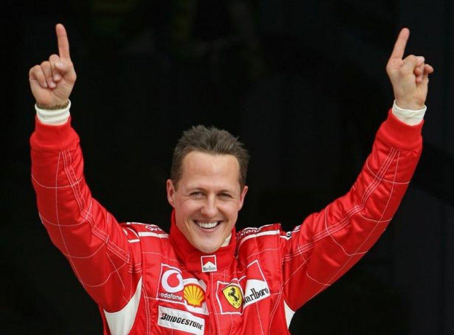 Schumacher i vetëdijshëm gjatë transferimit për në spital