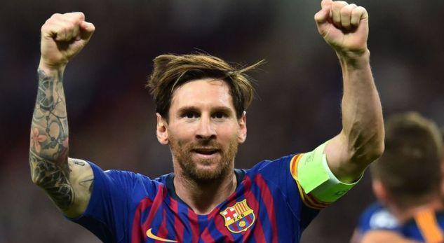 Messi, specialist i gjuajtjeve të lira në Evropë
