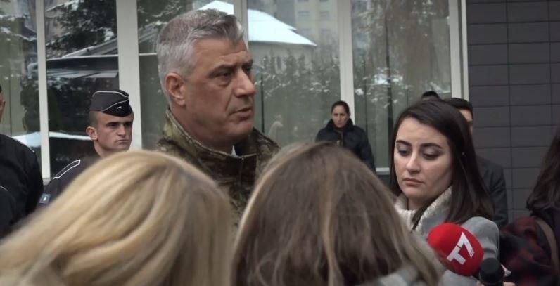 Thaçi pas formimit të Ushtrisë tregon synimin tjetër të Kosovës