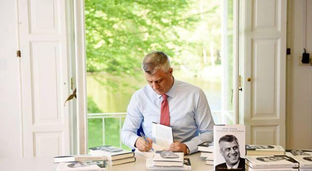 Avokati Geoffrey Nice, me paratë e dedikuara për lobim,punoi në biografinë e Thaçit